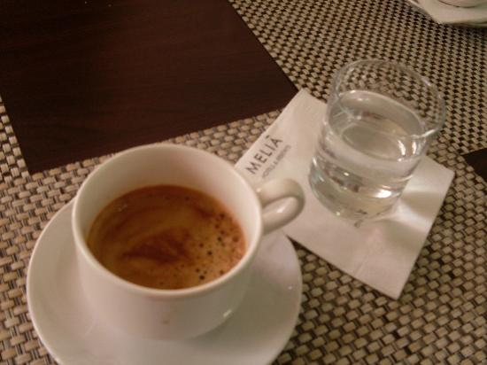Melia Grand Hermitage: coffee