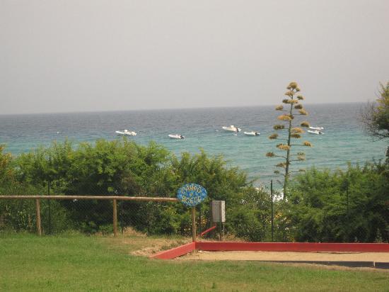 The Free Beach Club : Petanque avec vue mer