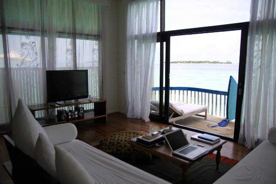 Cocoa Island by COMO: Living room