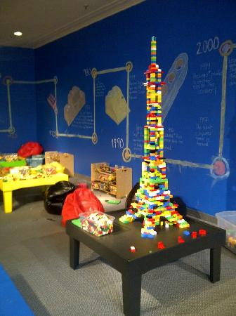 Discovery Centre: The Lindsay Building Centre houses thousands of Lego bricks for creative free play.