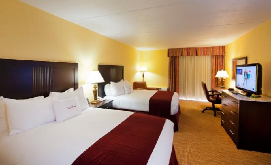 DoubleTree by Hilton Hotel Cocoa Beach Oceanfront: Executive Level Double Room Renovated in 2012