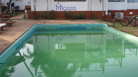 Micasa Beach Resort: piscine impraticable