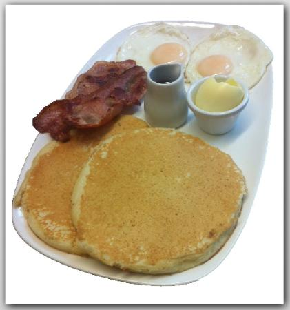 Porters Coffee House: All American Breakfast