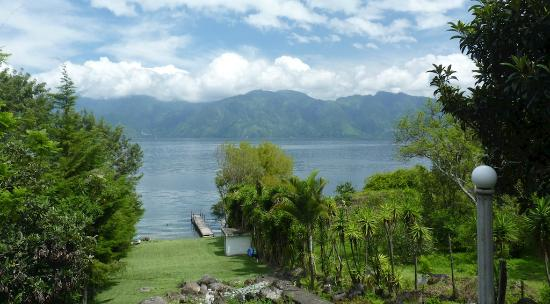 Lake Villa Guatemala: View from the deck