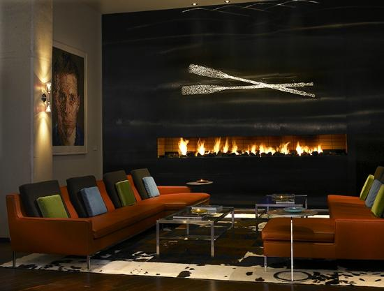 looking at the lobby from open floor above picture of. Black Bedroom Furniture Sets. Home Design Ideas