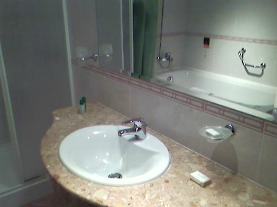 Hotel Zdravets: bathroom