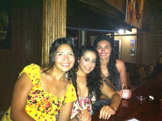 Coconut Tree Restaurant : us girls having a blast at coconut tree