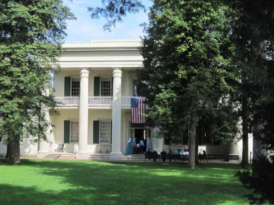 House picture of andrew jackson 39 s hermitage nashville for Hermitage house