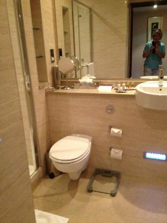 The Savoy Hotel: modern bathrooms