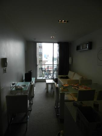 Milano Serviced Apartments: Dining/Lounge Area, From Kitchen