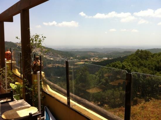 Restaurante O Luar da Foia: panorama from the terrace