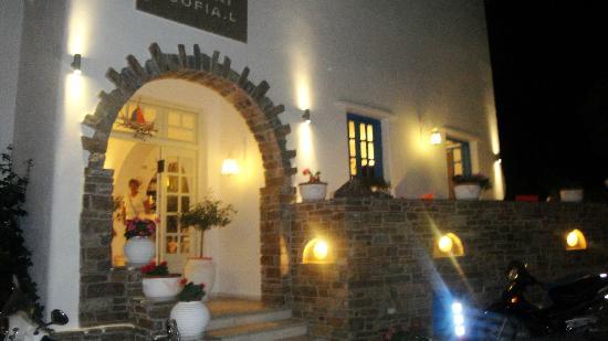 Hotel Galini & Sofia Latina: Entrée