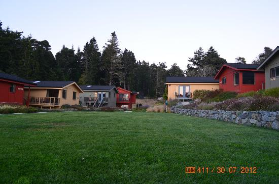 Cottages at Little River Cove: Grounds and cabins