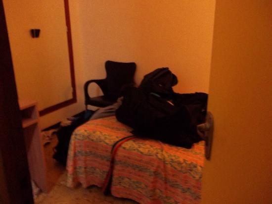 Hotel Mar Bella: bedroom view from door