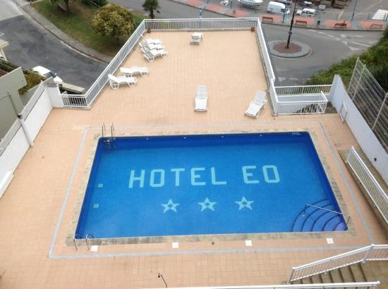 picine de l'hotel eo a Ribadeo