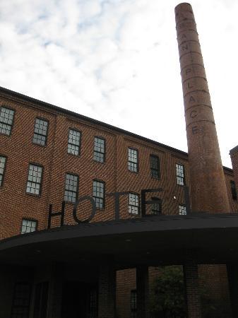Cork Factory Hotel: Fachada