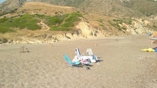 Kalamaki Beach: Spiaggia