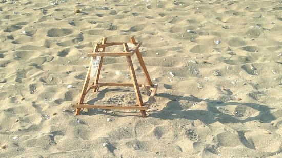 Kalamaki Beach: Particolare nido