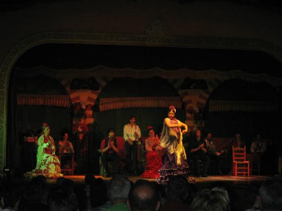 El Palacio Andaluz: Momentos del espectáculo.