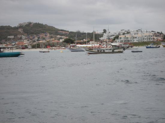 Cabo Frio House of History: saliendo del puerto