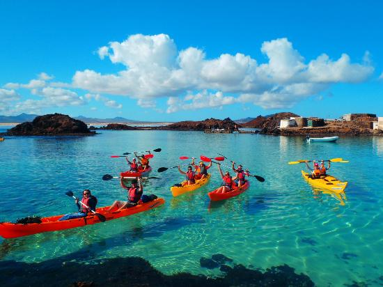 Kayak Fuerteventura: Lobos Island Lagoon