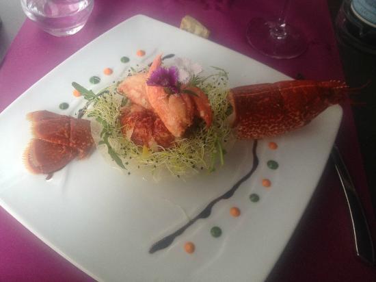 Le 35 : Salade de homard.