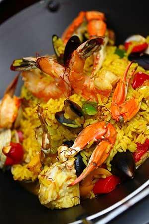 Maca Restaurant: PAELLA DE MARISCOS