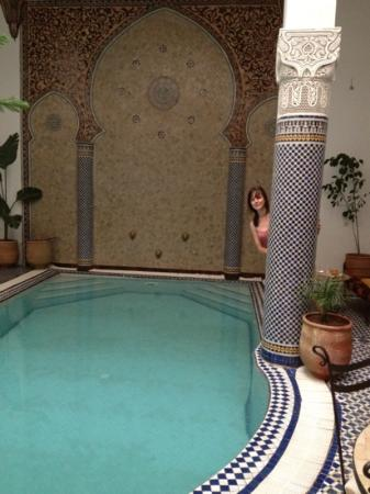 Riad Jamai: the beautiful pool