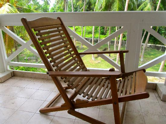 Villa Balapitiya Beach: On the private verandah