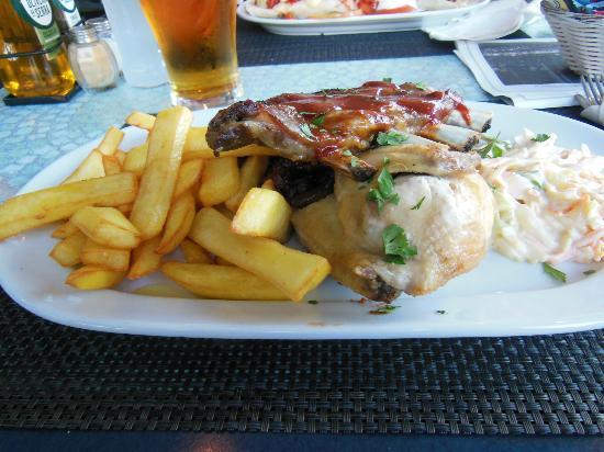 Parky's Bar Bistro: Chicken, Steak, Shredded Beef, Chips,