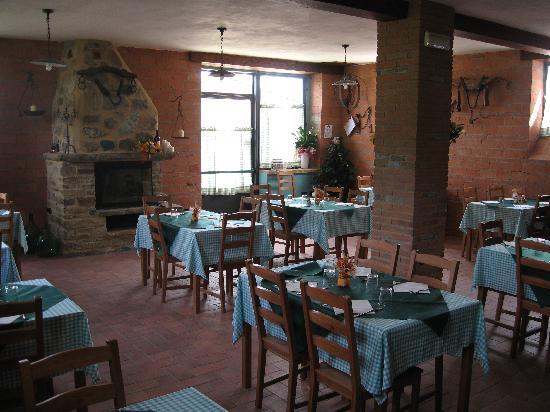 Osteria La Baccana: salone interno