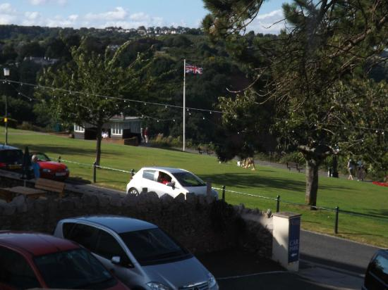 The Babbacombe Royal Hotel: view from window 1