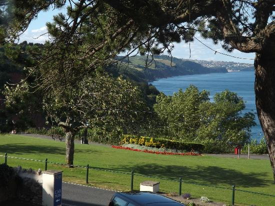 The Babbacombe Royal Hotel: view from window 3