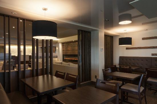 Hotel & Suites Normandin Quebec: Espace déjeuner / Breakfast area