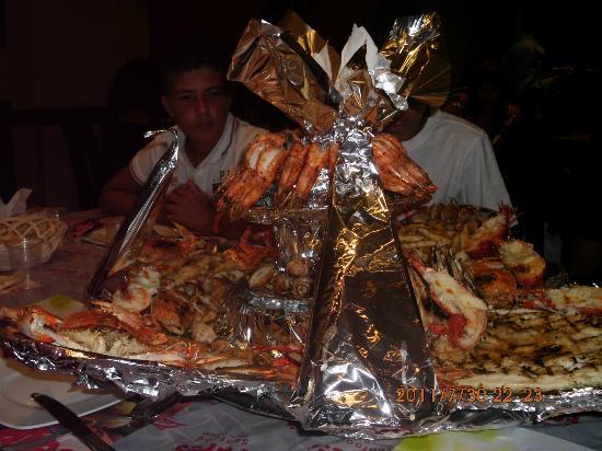 Fares Seafood : sperlunga alla griglia