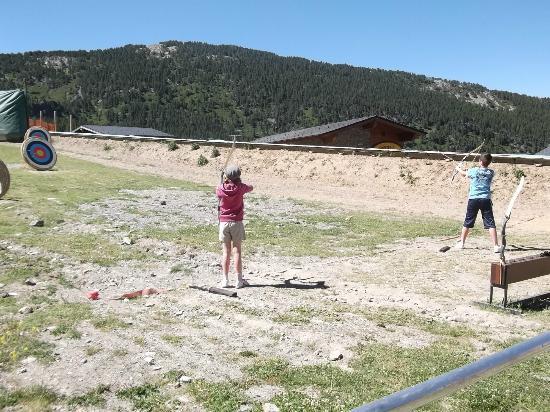 Grandvalira Ski Resort: tir à l'arc