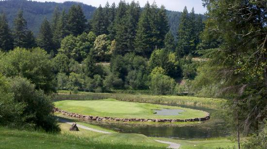 Salmon Run Golf Course: Signature hole (#4)