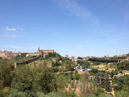 Hotel Il Giardino di SIENA: Utsikten från balkongen