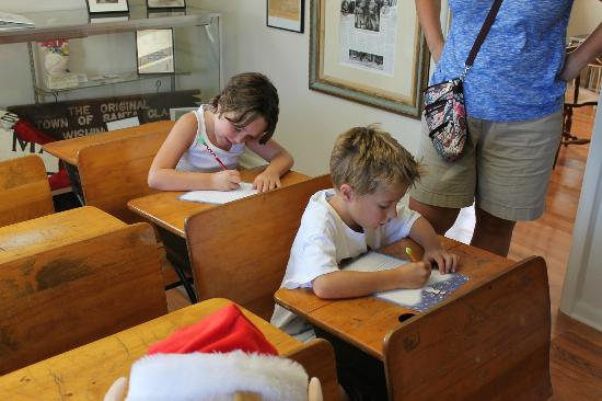 Santa Claus Museum: Kids Writing Letters To Santa