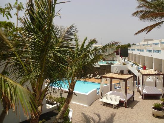 Spice Lanzarote : View from room 109
