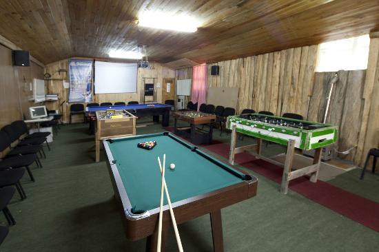 Salon De Juego Con Mesa De Pool Para Adultos Y Ninos Mesa De Ping