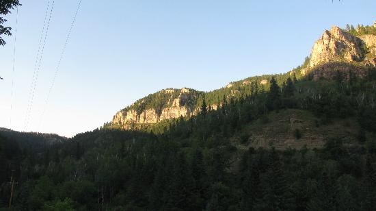 Spearfish Canyon Lodge: view