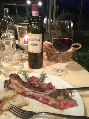 Badia a Coltibuono : Dinner #2