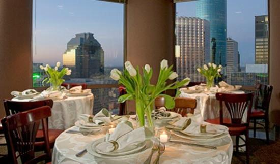 The 43rd at Wedge International: Great views of Houston while you dine from 43 floors up