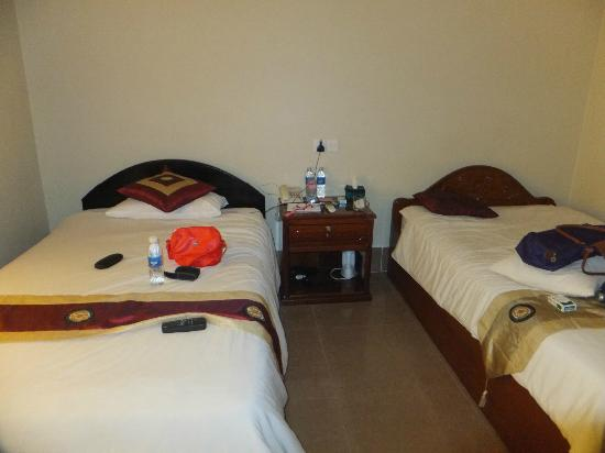 Tanei Boutique Villa: our deluxe twin bed