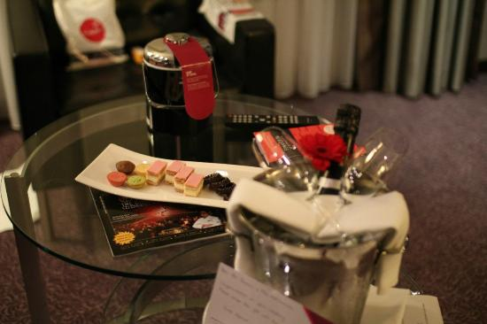 Crowne Plaza Amsterdam South: compliments