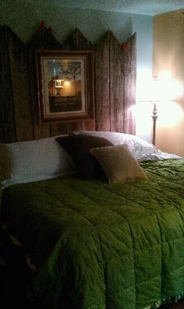Robinwood Inn: The Studio, comfy king sized bed!