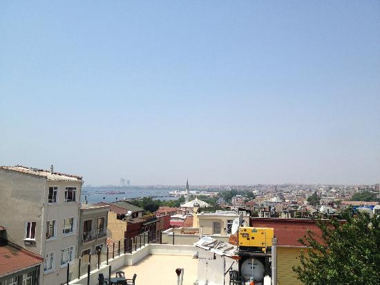 Artefes Hotel: View of Istanbul from the Roof