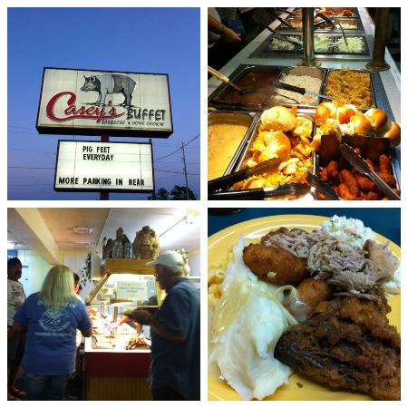 Casey's Buffet Barbecue & Home Cookin: Casey's buffet