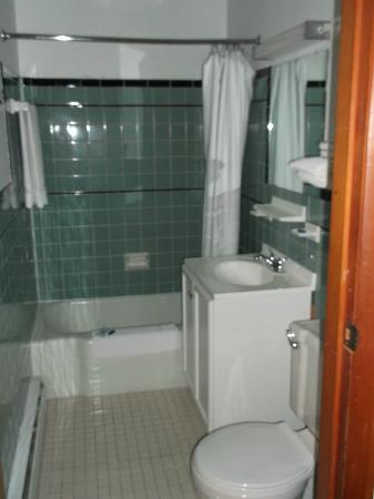 Gorham Motor Inn: Clean well equipped shower with great water pressure!